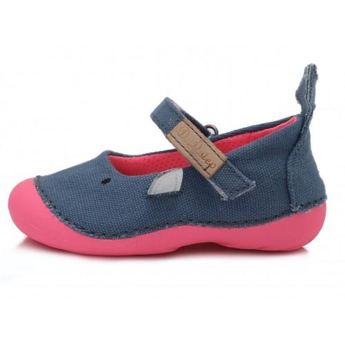 Mėlyni canvas batai 19-24 d. C015240