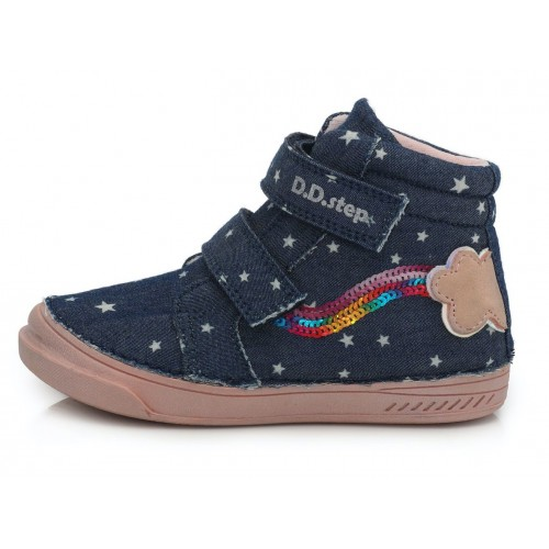 Mėlyni canvas batai 25-30 d. C04035AM