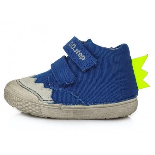 Mėlyni Barefeet canvas batai 20-25 d. C066937