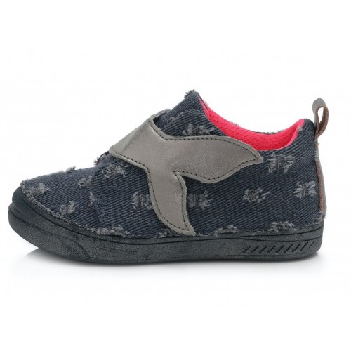 Mėlyni canvas batai 25-30 d. C040460M