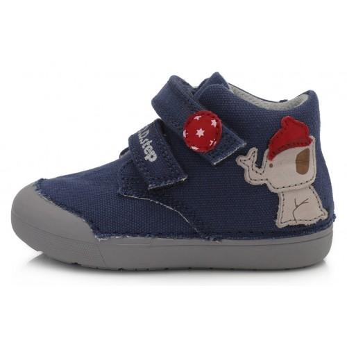 Mėlyni Barefeet canvas batai 20-25 d. C06662