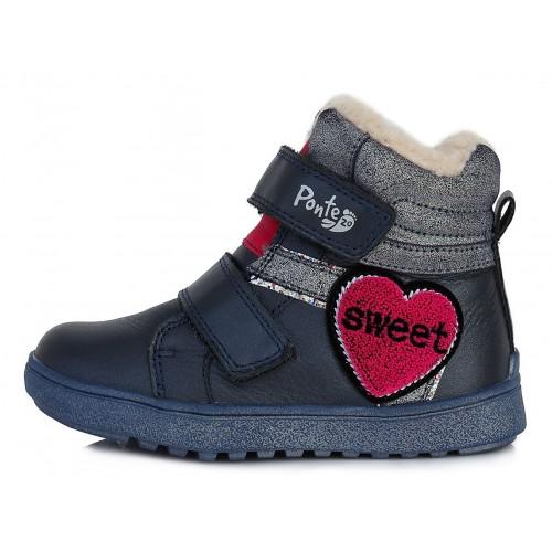 Mėlyni batai su pašiltinimu 28-33 d. DA061222