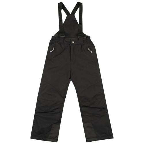 Juodos kombinezoninės kelnės SLIM 110-134 cm. KALBORN
