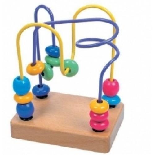 Ergoterapinis žaislas Du labirintai, 18 mėn+