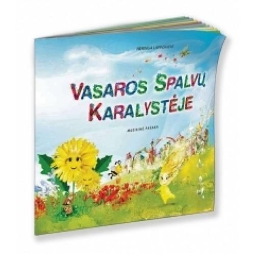 Muzikinė pasaka VASAROS SPALVŲ KARALYSTĖJE (su CD)