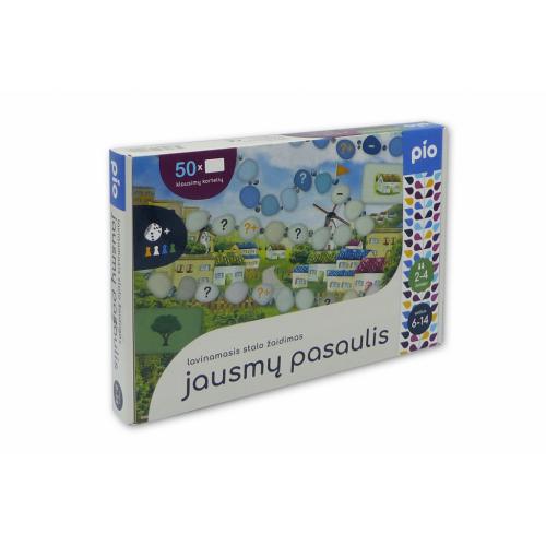 Lavinamasis stalo žaidimas JAUSMŲ PASAULIS, 6+