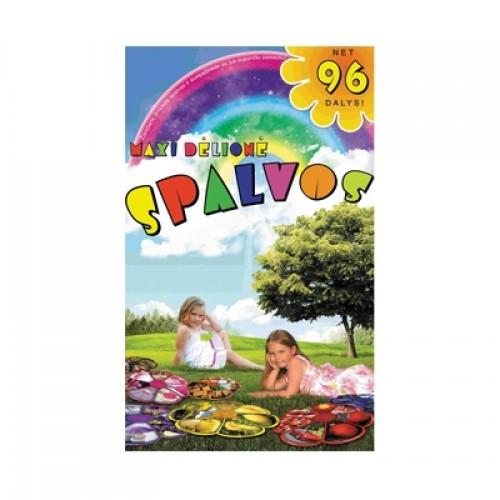 Lavinanti dėlionė SPALVOS, 2-6 metų vaikams