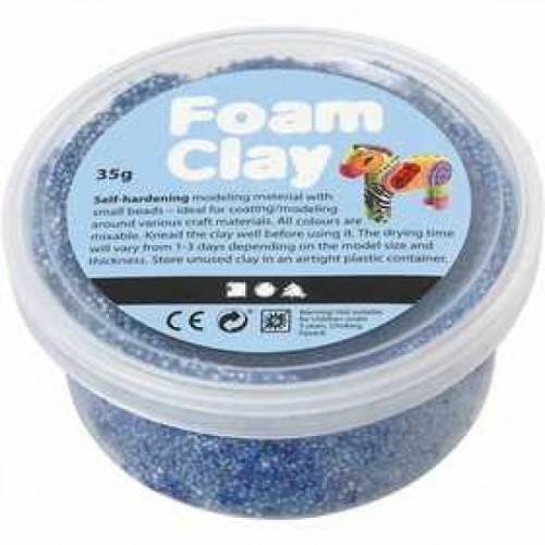 Burbulinis modelinas - mėlyna spalva 35 gr