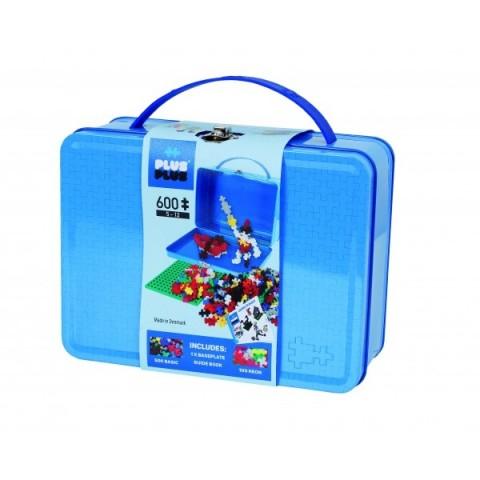 Plus Plus konstruktoriaus LAGAMINAS, mėlynas, metalinis