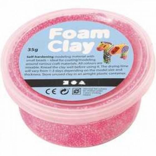 Burbulinis modelinas - rožinė spalva 35 gr