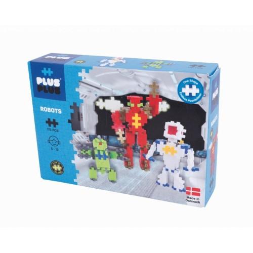 Plus Plus konstruktorius, Robotai, Mini neoninės 170