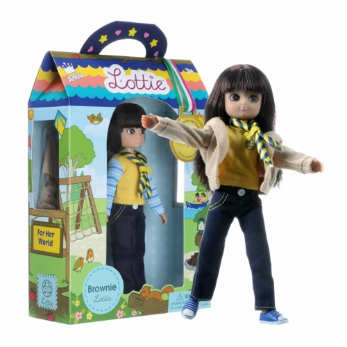 Lottie lėlė - Turistautoja