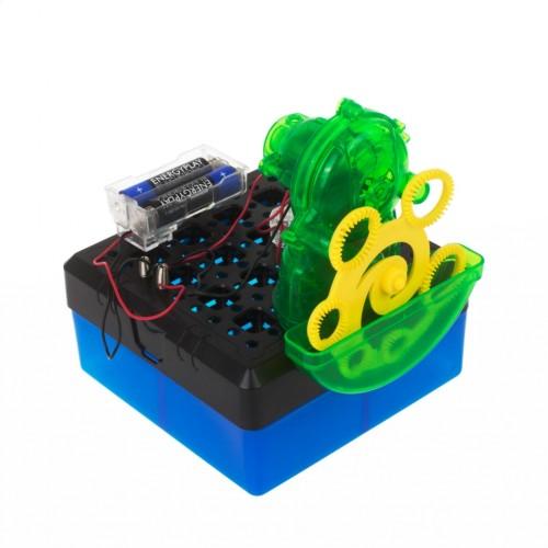 Burbulų gaminimo mašina, STEM