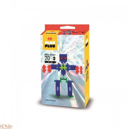 Plus Plus konstruktorius Mini Robotai, 70 vnt