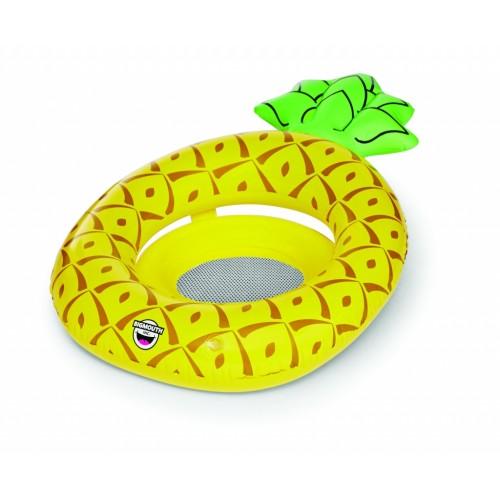 Pripučiamas ratas su laikikliu, Ananasas
