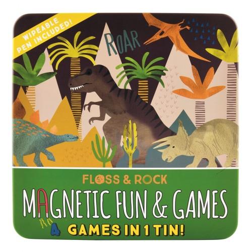 Magnetinis žaidimas, Dinozaurai 4 in 1