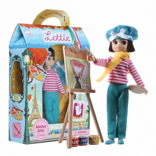 Lottie lėlė - Menininkė
