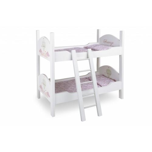 Dviaukštė lėlių lova