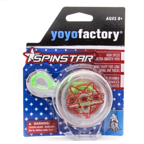 YoYo Spinstar-LED raudonas, šviečia