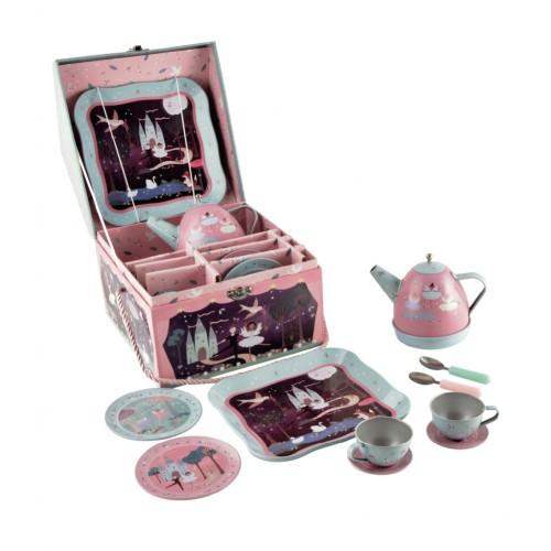 Muzikinis arbatos servizas