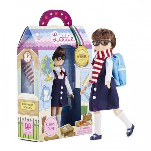 Lottie lėlė - Moksleivė