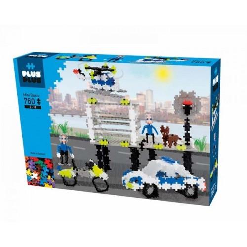 Plus Plus konstruktorius, Policija, Mini bazinės 760