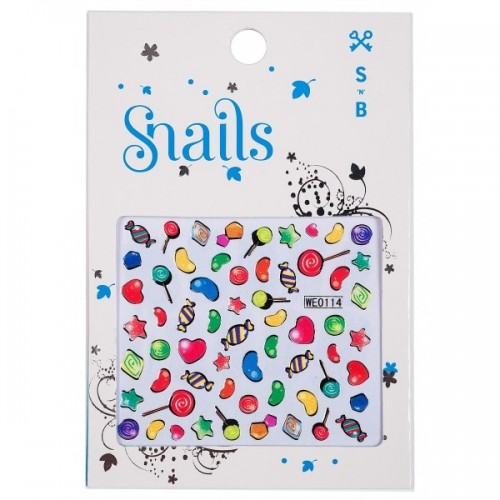 """Snails lipdukai """"Saldainiukai"""""""