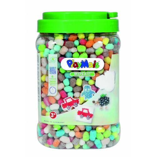 PlayMais žaidimas mozaika 1600, pagrindinės spalvos