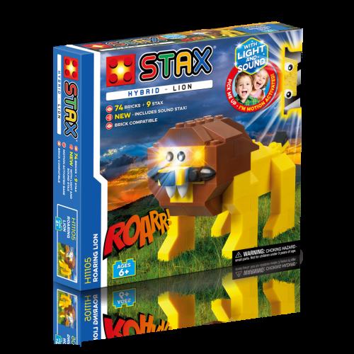 STAX konstruktorius Hybrid Riaumojantis liūtas