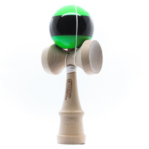 Kendama žaislas, medinis/žalias