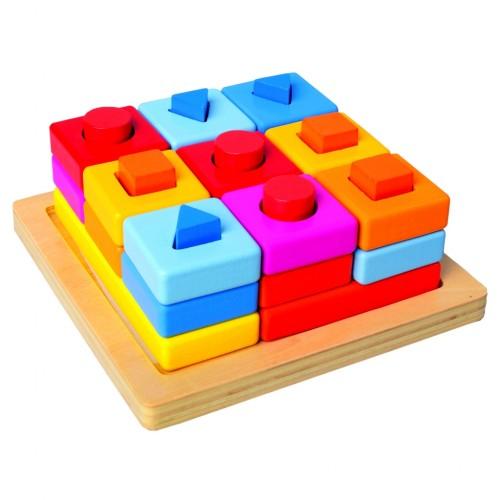 Bino formų ir spalvų mokymosi žaidimas, 18+